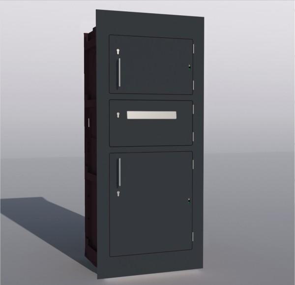 Paketkasten Einbau-Variante